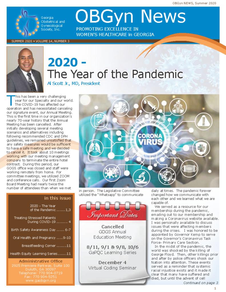 OB-GYN Newsletter Summer 2020 IMAGE_Page_1